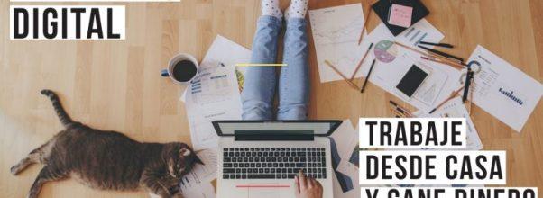 marketing digital trabaje desde casa y gane dinero